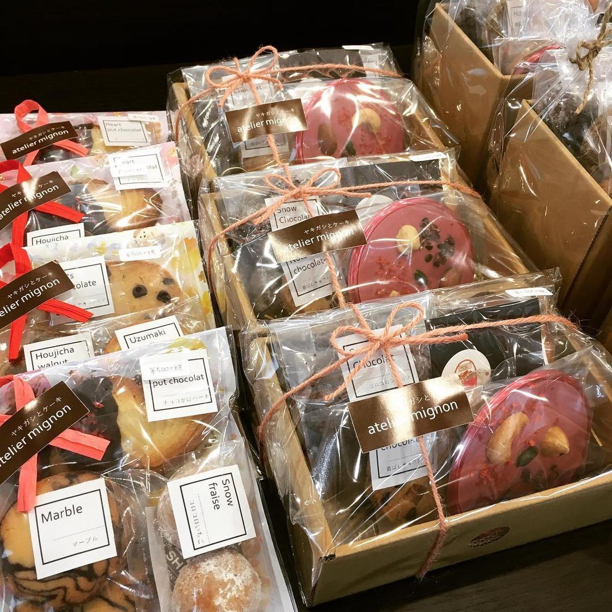 ヤキガシとケーキ atelier mignon-2