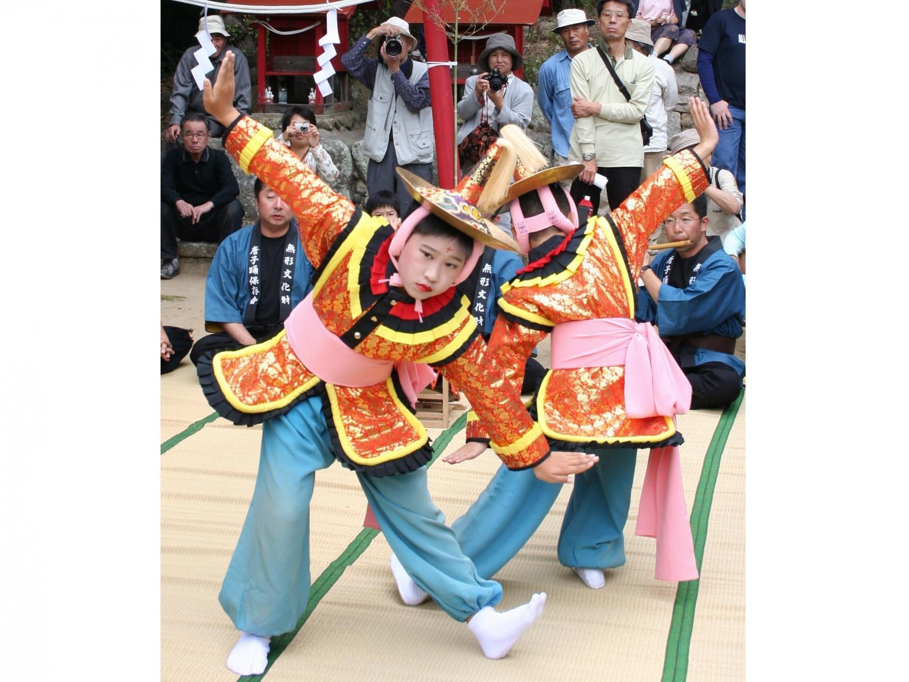 唐子踊(疫神社)(牛窓秋祭り)